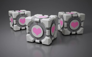 companion_cube_by_saphirenishi-d4v31gc