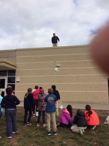 Mr. T drops one group's egg